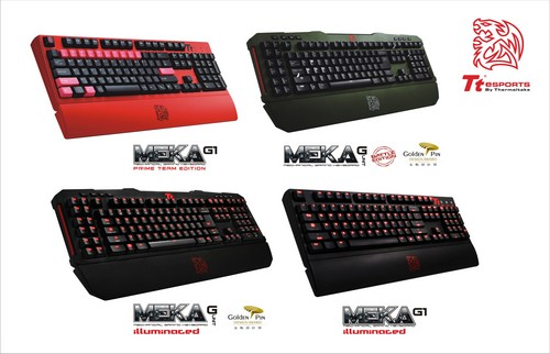 Tt eSPORTS reveal new keyboards, mice and headsets at CES 2013 1
