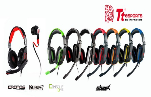 Tt eSPORTS reveal new keyboards, mice and headsets at CES 2013 3