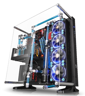 Thermaltake - Global - Thermaltake New Core P5 ATX Wall ...
