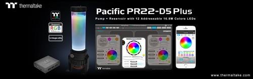 Thermaltake Pacific PR22-D5 Plus Reservoir//Pump Combo//RGB Software Controller