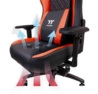 In Order To Achieve Maximum Cooling Performance The Air Optimized Design Of X COMFORT AIR Directs Streamlined Airflow Through Seat Base Via