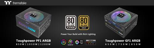 Thermaltake New Toughpower PF1/GF1 ARGB Power Supply Power