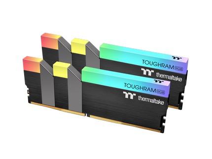 曜越今日正式發佈高容量、高時脈的曜越TOUGHRAM RGB DDR4電競記憶體32GB (2x16GB)和64GB (2x32GB),共有3200MHz和3600MHz兩種時脈,並有黑白兩色可以選擇。