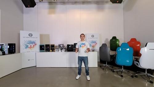 2021曜越線上電腦展主題「炫彩電競,大膽玩色」