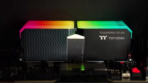 2021曜越新推 大容量鋼影TOUGHRAM XG RGB系列DDR4記憶體